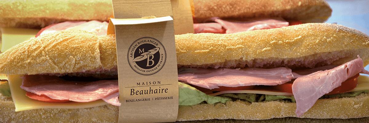 Sandwich - Boulangerie Maison-Beauhaire
