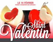 affiche saint valentin gateau